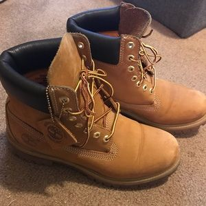 Timberland 6in Premium Wheat Boots